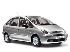 Citroën Xsara Picasso wheels and tires specs icon
