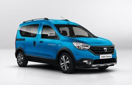 Dacia Dokker Stepway wheels and tires specs icon