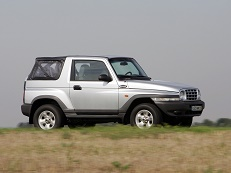 Daewoo Korando KJ Open Off-Road Vehicle