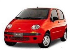 Daewoo Matiz 2000 - Wheel & Tire Sizes, PCD, Offset and Rims specs