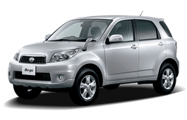 Daihatsu Be-Go wheels and tires specs icon