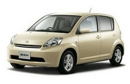 Daihatsu Boon wheels and tires specs icon