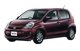 Daihatsu Boon wheels and tires specs icon