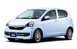 Daihatsu Mira e:S wheels and tires specs icon