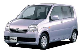 Daihatsu Move wheels and tires specs icon
