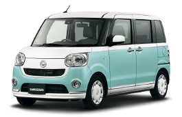 Daihatsu Move Canbus wheels and tires specs icon