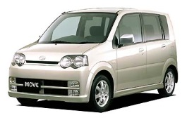 Daihatsu Move Custom III Hatchback
