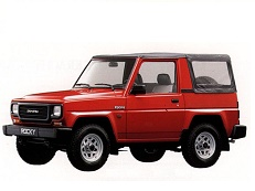 Daihatsu Rocky F78 Open Off-Road Vehicle