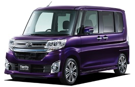 Daihatsu Tanto Custom wheels and tires specs icon