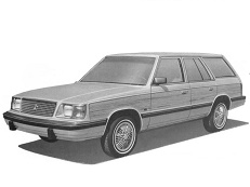 Dodge Aries K-body Универсал