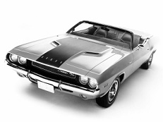 Dodge Challenger E-body Convertible