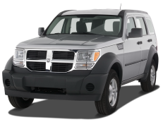 Dodge Nitro KJ Closed Off-Road Vehicle