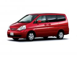 Nissan Serena wheels and tires specs icon