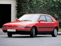 mazda 323 - specs of wheel sizes, tires, pcd, offset and rims