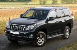 FAW Toyota Land Cruiser Prado 150 Series Closed Off-Road Vehicle