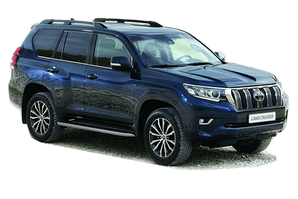 FAW Toyota Land Cruiser Prado 150 Series Restyling II Closed Off-Road Vehicle