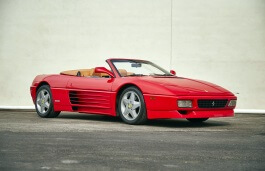 Ferrari 348 Spider wheels and tires specs icon