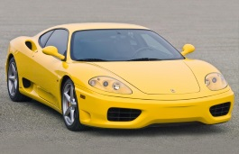 Ferrari 360 Modena wheels and tires specs icon