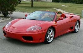 ícone de especificações de roda e pneus de Ferrari 360 Spider