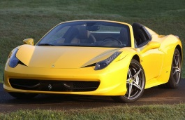 Ferrari 458 Spider wheels and tires specs icon