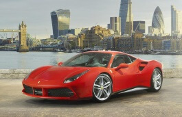 Ferrari 488 GTB wheels and tires specs icon