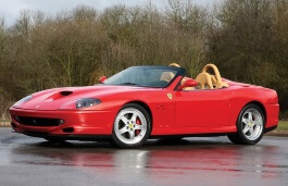 Ferrari 550 Barchetta Pininfarina wheels and tires specs icon