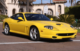 Ferrari 550 Maranello wheels and tires specs icon