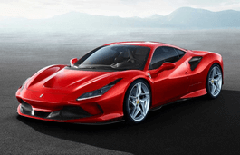 Ferrari F8 Tributo wheels and tires specs icon