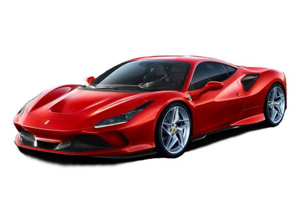 ícone de especificações de roda e pneus de Ferrari F8 Tributo