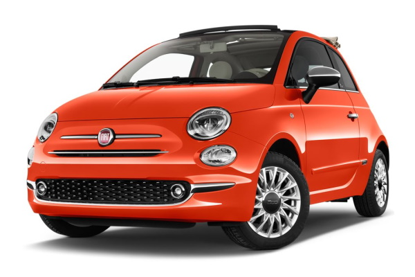 Fiat 500 wheels and tires specs icon