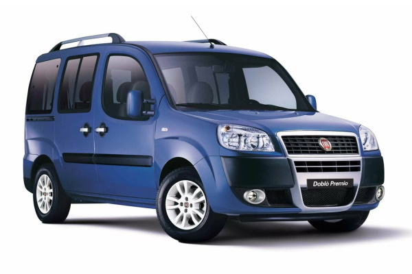 Fiat Doblo wheels and tires specs icon