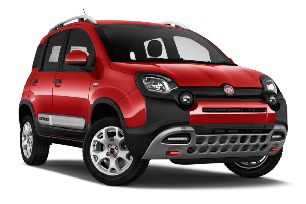 Fiat Panda Cross wheels and tires specs icon