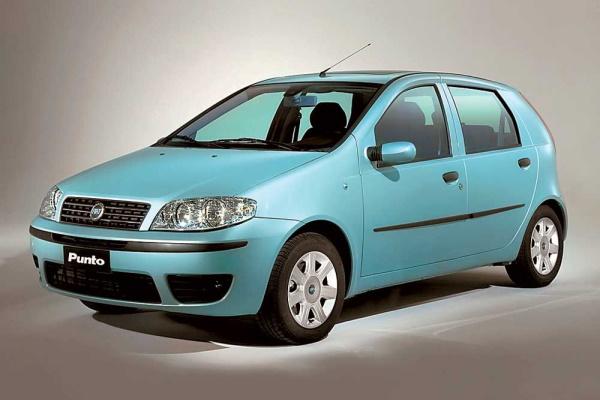 Icona per specifiche di ruote e pneumatici per Fiat Punto