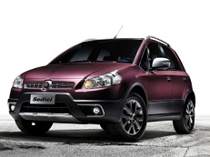 ícone de especificações de roda e pneus de Fiat Sedici