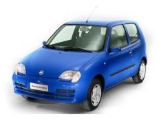 Fiat Seicento Räder- und Reifenspezifikationensymbol