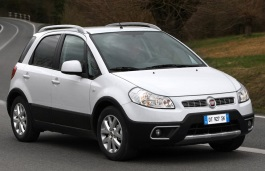 Fiat Sedici I Restyling Hatchback