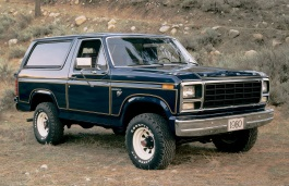 Ford Bronco III SUV