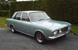 Ford Cortina Mark II Berline