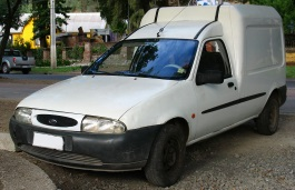 Ford Courier Box