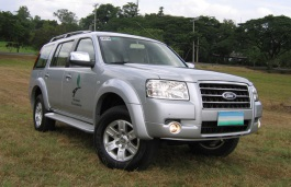 Ford Endeavour wheels and tires specs icon