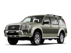 Ford Everest J97M Closed Off-Road Vehicle