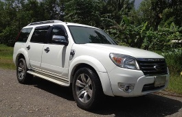 Ford Everest II Facelift SUV