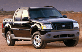 Ford Explorer Sport Trac wheels and tires specs icon