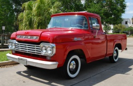 Ford F-100 II Restyling Pickup Regular Cab