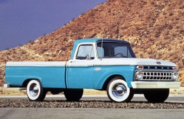 Ford F-100 III Restyling Pickup Regular Cab