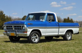 Ford F-100 IV Facelift Pickup Regular Cab