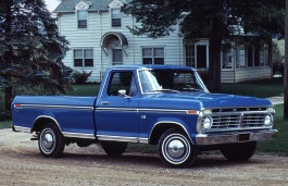 Ford F-100 V Pickup Regular Cab