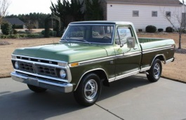 Ford F-100 V Facelift Pickup Regular Cab