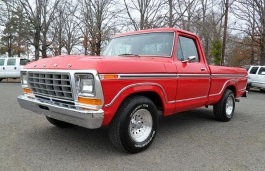 Ford F-100 V Restyling Pickup Regular Cab