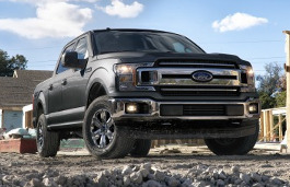 Ford F-150 - Specs of wheel sizes, tires, PCD, Offset and